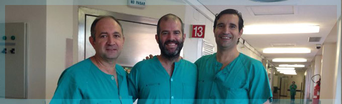El Dr. Romero Otero tutoriza sesión quirúrgica sobre Láser de Holmium