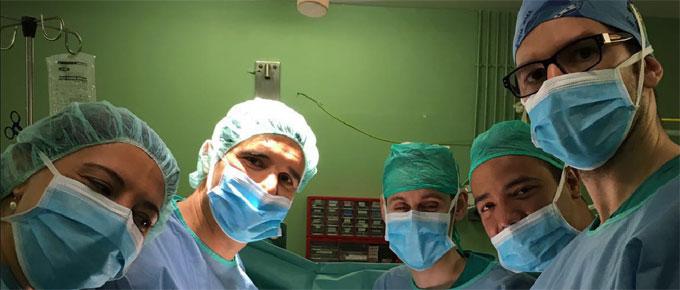 adiestramiento práctico quirúrico