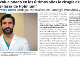 Dr Romero Otero entrevistado por EL País