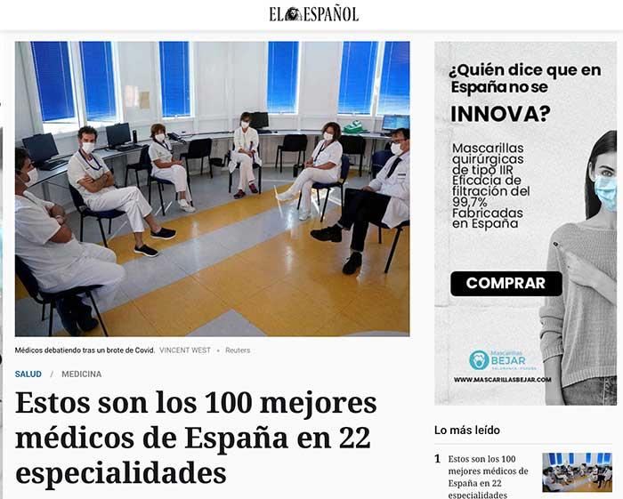 Romero-Otero entre los 100 mejores médicos de España