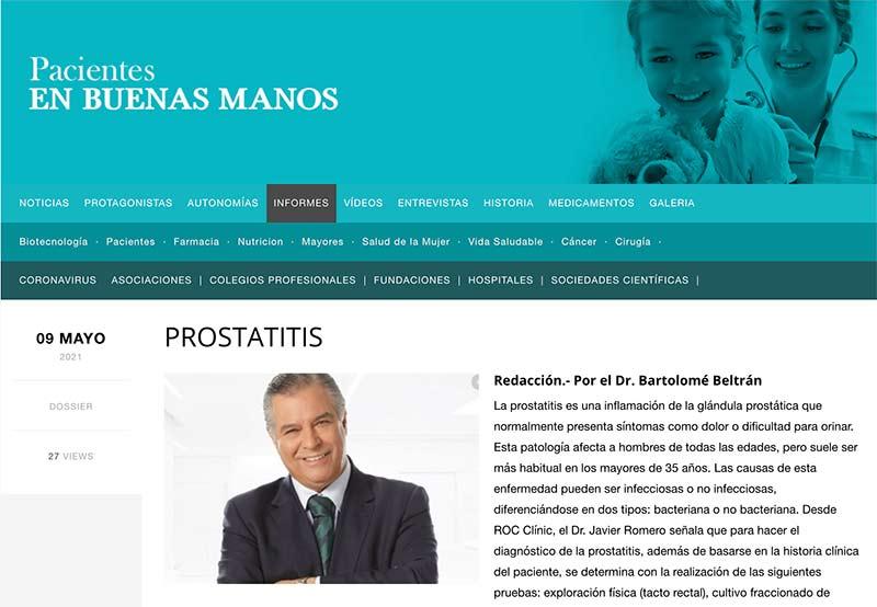 prostatitis cronica