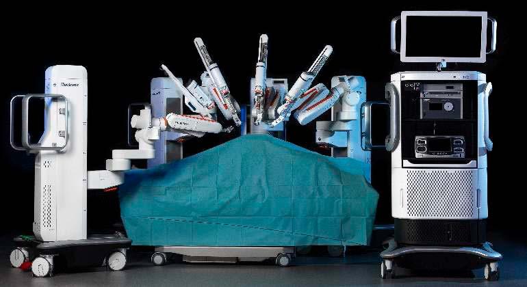 sistema de cirugía robótica Hugo
